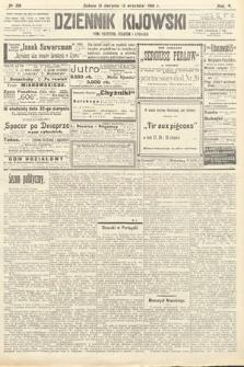 Dziennik Kijowski : pismo polityczne, społeczne iliterackie. 1910, nr218