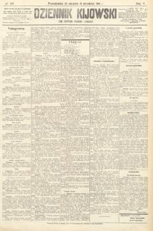 Dziennik Kijowski : pismo polityczne, społeczne iliterackie. 1910, nr220