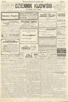Dziennik Kijowski : pismo polityczne, społeczne iliterackie. 1910, nr221