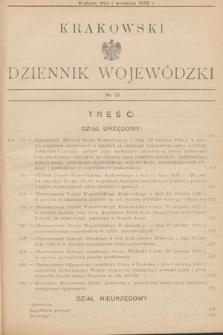 Krakowski Dziennik Wojewódzki. 1935, nr21