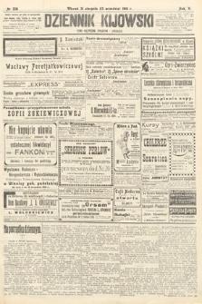 Dziennik Kijowski : pismo polityczne, społeczne iliterackie. 1910, nr228