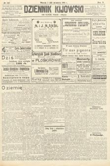 Dziennik Kijowski : pismo polityczne, społeczne iliterackie. 1910, nr235