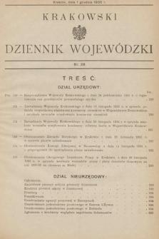Krakowski Dziennik Wojewódzki. 1935, nr28
