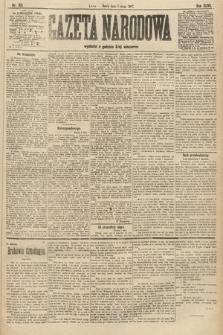 Gazeta Narodowa. 1907, nr105