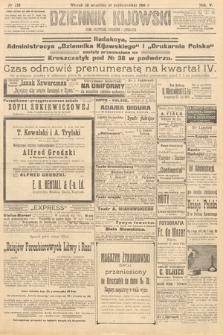 Dziennik Kijowski : pismo polityczne, społeczne iliterackie. 1910, nr255