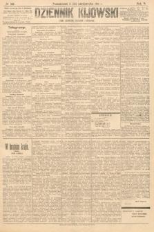 Dziennik Kijowski : pismo polityczne, społeczne iliterackie. 1910, nr268