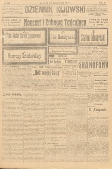 Dziennik Kijowski : pismo polityczne, społeczne iliterackie. 1910, nr270