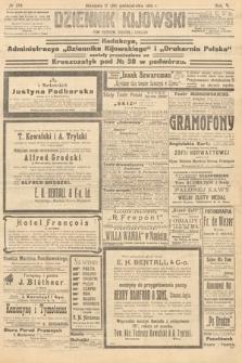 Dziennik Kijowski : pismo polityczne, społeczne iliterackie. 1910, nr274