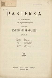 Pasterka : na chór mieszany z tow. organów i orkiestry