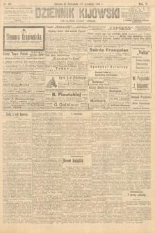 Dziennik Kijowski : pismo polityczne, społeczne iliterackie. 1910, nr314