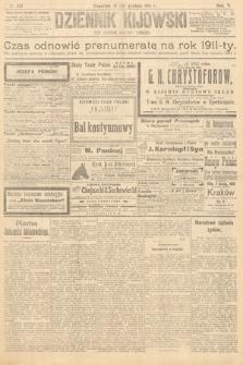 Dziennik Kijowski : pismo polityczne, społeczne iliterackie. 1910, nr332