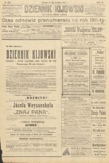 Dziennik Kijowski : pismo polityczne, społeczne iliterackie. 1910, nr334