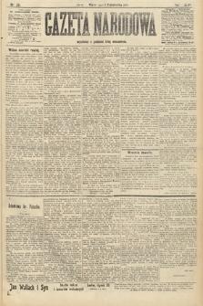 Gazeta Narodowa. 1907, nr231