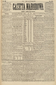 Gazeta Narodowa. 1907, nr264