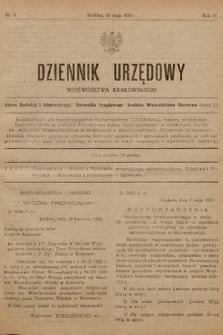 Dziennik Urzędowy Województwa Krakowskiego. 1924, nr4