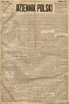 Dziennik Polski. 1877, nr22