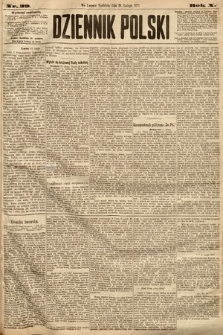 Dziennik Polski. 1877, nr39