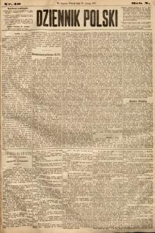 Dziennik Polski. 1877, nr40