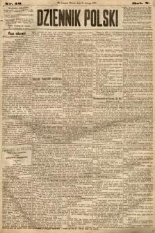 Dziennik Polski. 1877, nr46
