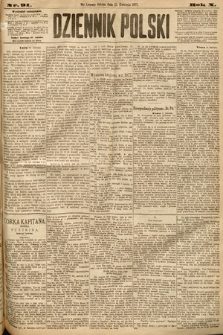 Dziennik Polski. 1877, nr91
