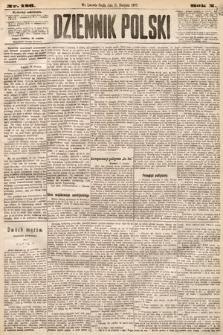 Dziennik Polski. 1877, nr186