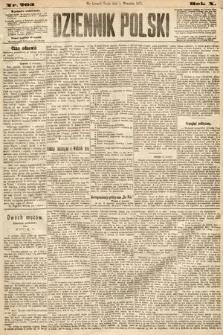 Dziennik Polski. 1877, nr203
