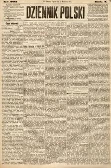 Dziennik Polski. 1877, nr205