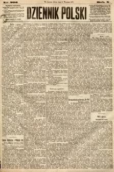 Dziennik Polski. 1877, nr206