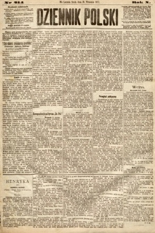 Dziennik Polski. 1877, nr214