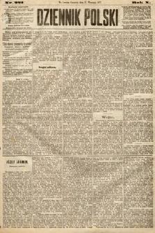Dziennik Polski. 1877, nr221