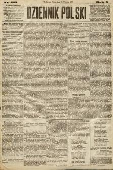 Dziennik Polski. 1877, nr223
