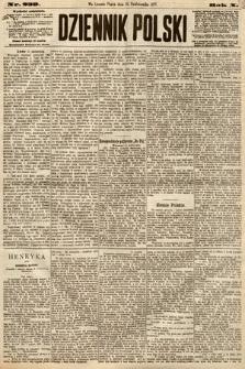 Dziennik Polski. 1877, nr239