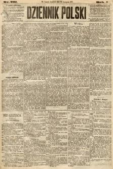 Dziennik Polski. 1877, nr267