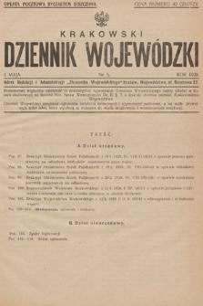 Krakowski Dziennik Wojewódzki. 1928, nr5