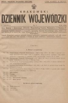 Krakowski Dziennik Wojewódzki. 1928, nr6
