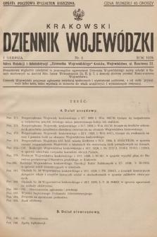 Krakowski Dziennik Wojewódzki. 1928, nr8