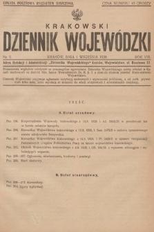 Krakowski Dziennik Wojewódzki. 1928, nr9