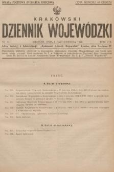 Krakowski Dziennik Wojewódzki. 1928, nr10