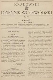 Krakowski Dziennik Wojewódzki. 1946, nr26