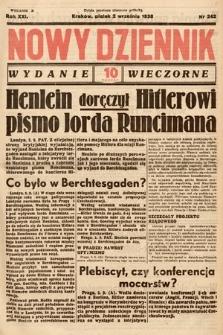 Nowy Dziennik (wydanie wieczorne). 1938, nr242