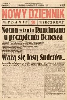 Nowy Dziennik (wydanie wieczorne). 1938, nr245