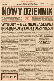 Nowy Dziennik. 1938, nr250