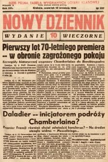 Nowy Dziennik (wydanie wieczorne). 1938, nr255