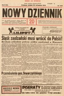 Nowy Dziennik. 1938, nr263