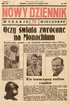 Nowy Dziennik (wydanie wieczorne). 1938, nr267