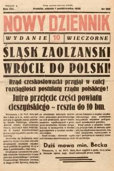 Nowy Dziennik (wydanie wieczorne). 1938, nr269