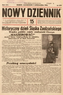 Nowy Dziennik. 1938, nr271