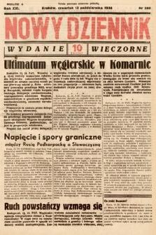 Nowy Dziennik (wydanie wieczorne). 1938, nr280