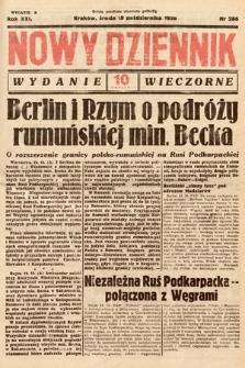 Nowy Dziennik (wydanie wieczorne). 1938, nr286