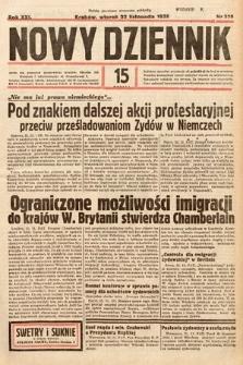 Nowy Dziennik. 1938, nr320